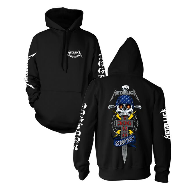 Dogtown x Metallica Hooded Sweatshirt, , hi-res