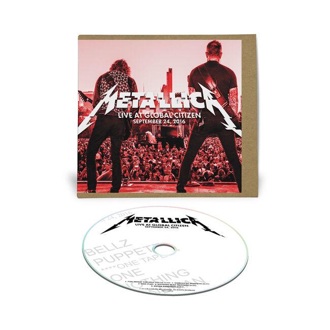 Live Metallica: Global Citizen Festival in New York, NY - September 24, 2016 (CD), , hi-res