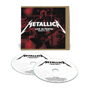 Live Metallica: Perth, Australia - March 4, 2013 (2CD), , hi-res