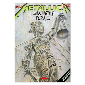 ...And Justice for All - Guitar Tablature Book, , hi-res