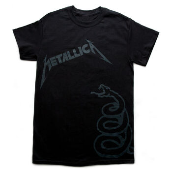Black Album Cover T-Shirt, , hi-res