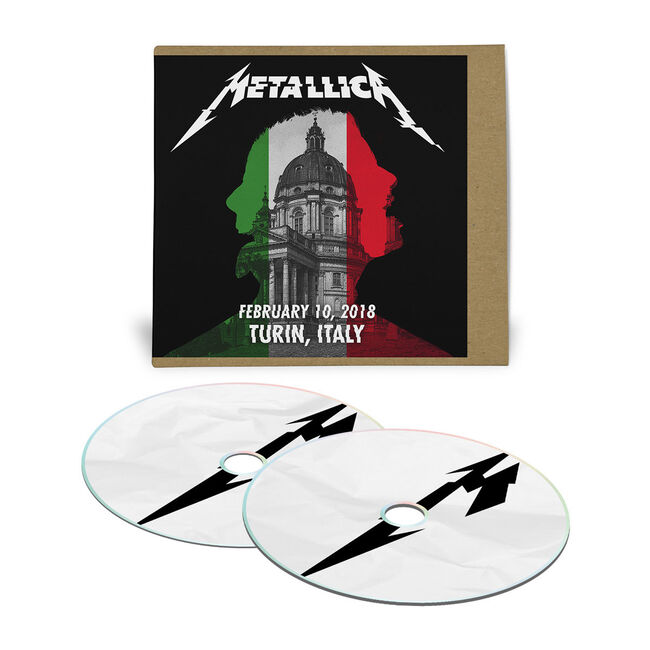 Live Metallica: Turin, Italy - February 10, 2018 (2CD), , hi-res