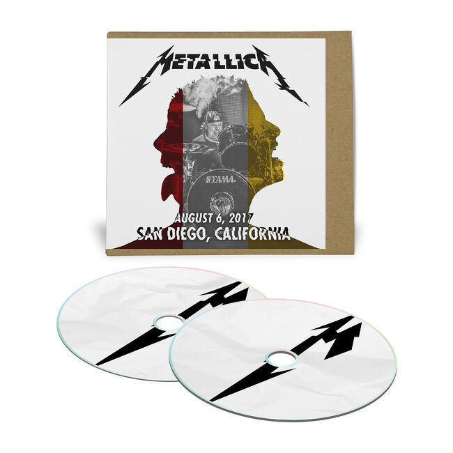 Live Metallica: San Diego, CA – August 6, 2017 (2CD), , hi-res