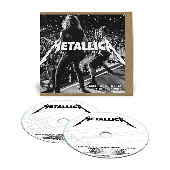 Live Metallica: Jakarta, Indonesia - August 25, 2013 (2CD), , hi-res