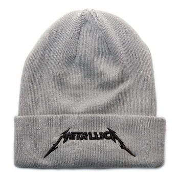 Glitch Logo Cuffed Beanie GREY, , hi-res