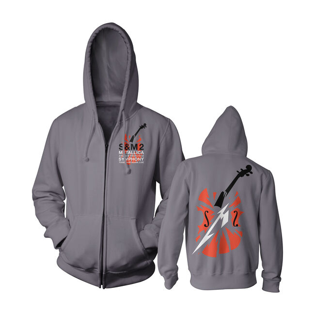 S&M² Shattered Zip Hoodie - Small, , hi-res