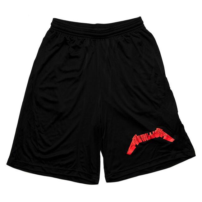 Red Logo Shorts, , hi-res