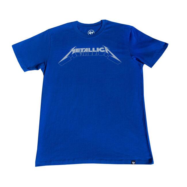 3-D Logo T-Shirt (Royal Blue), , hi-res