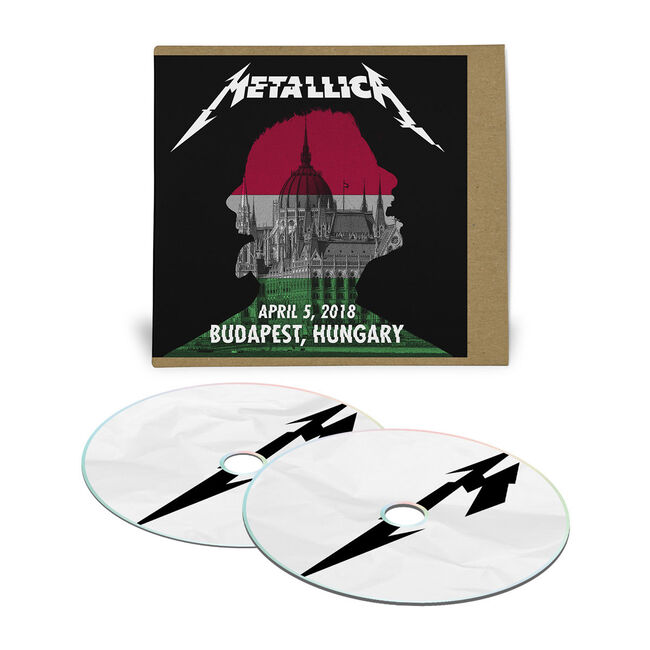 Live Metallica: Budapest, Hungary - April 5, 2018 (2CD), , hi-res