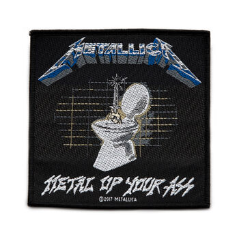 Metal Up Your Ass Woven Patch, , hi-res