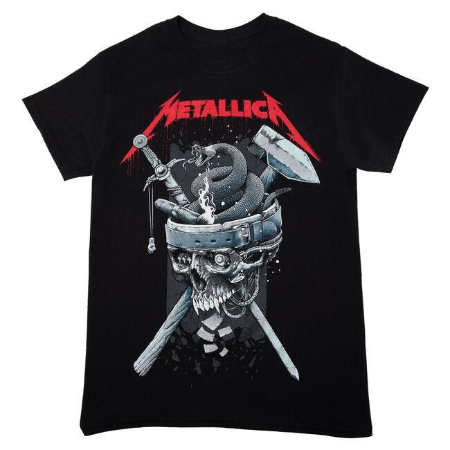 Skull History T-Shirt - 4XL, , hi-res