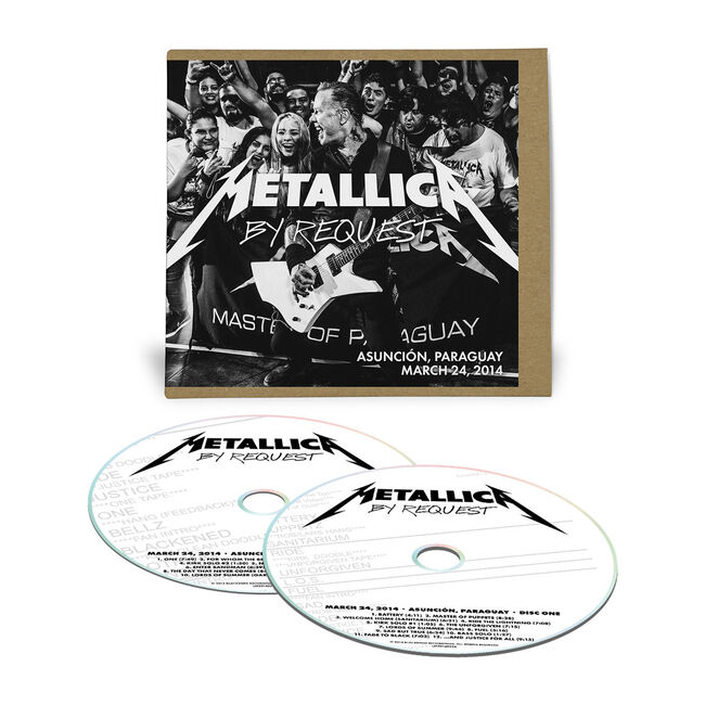 Live Metallica: Asuncion, Paraguay - March 24, 2014 (2CD), , hi-res