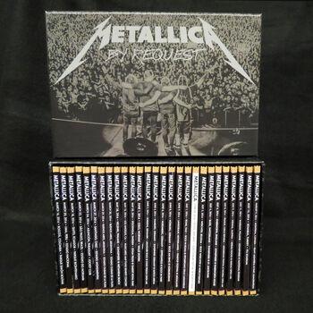 Live Metallica: By Request 2014 CD Box Set, , hi-res