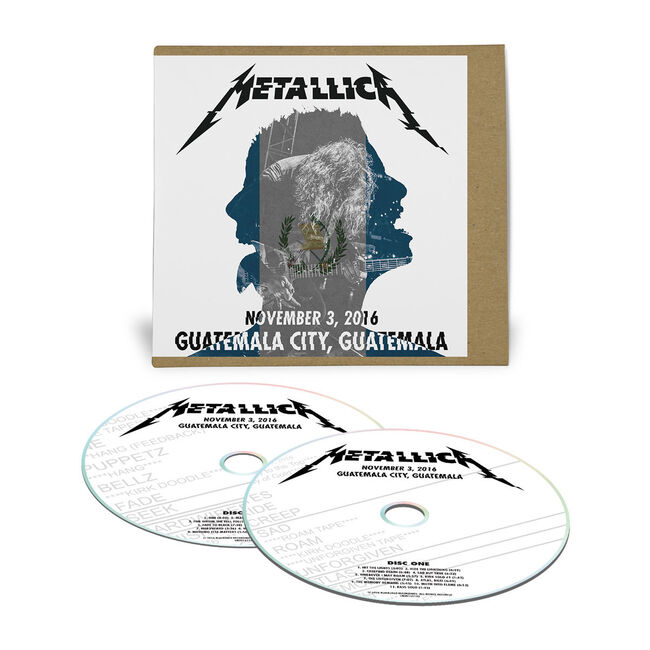 Live Metallica: Guatemala City, Guatemala - November 3, 2016 (2CD), , hi-res