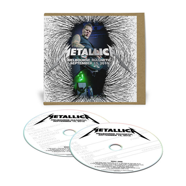 Live Metallica: Melbourne, Australia - September 15, 2010 (2CD), , hi-res