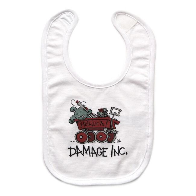 Damage, Inc. Wagon Baby Bib, , hi-res