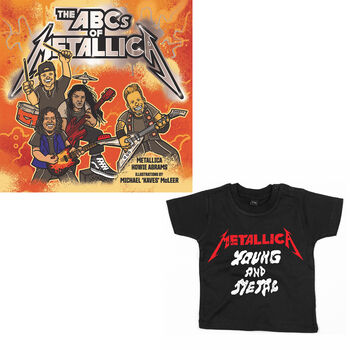 bd165f620 The ABCs of Metallica & Toddler/Youth Shirt Bundle