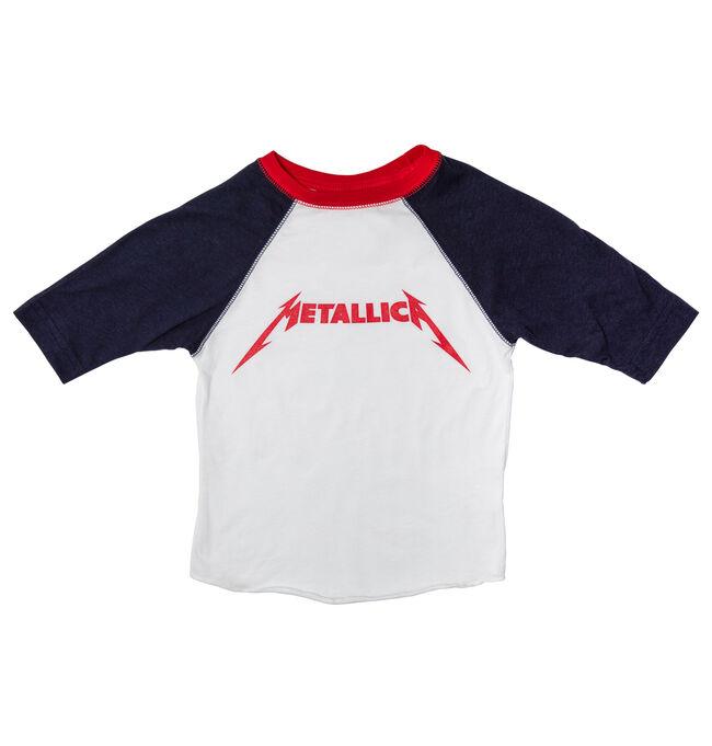 Toddler Baseball T-Shirt (White/Navy), , hi-res