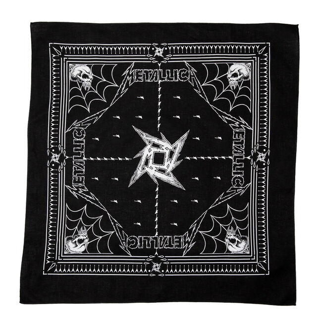 Dirty Donny Black Bandana, , hi-res