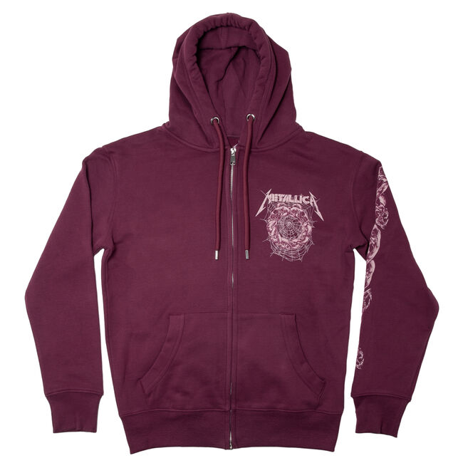 The Struggle Within Full-Zip Hoodie (Burgundy) - Small, , hi-res