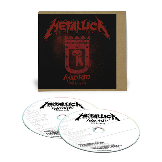 Live Metallica: Madrid, Spain - May 31, 2008 (2CD), , hi-res
