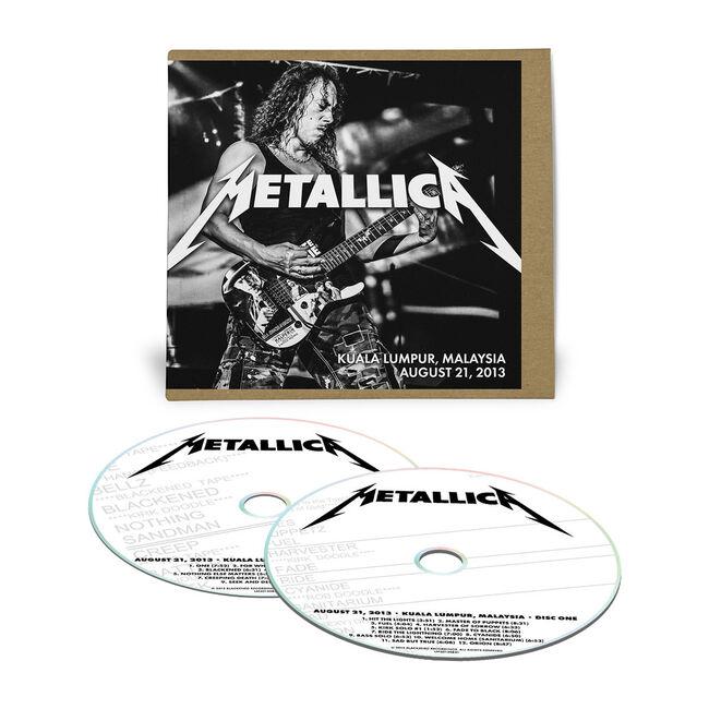 Live Metallica: Kuala Lumpur, Malaysia - August 21, 2013 (2CD), , hi-res