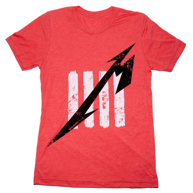 Fifth Member™ Distressed T-Shirt (Red), , hi-res