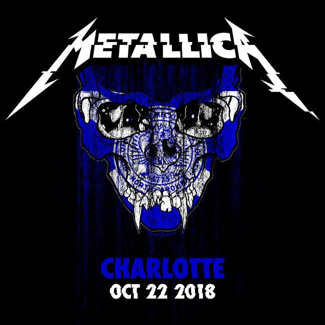 Live Metallica: Charlotte, NC - October 22, 2018, , hi-res