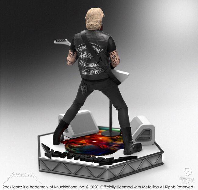James Hetfield Hardwired Rock Iconz Statue, , hi-res