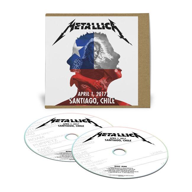 Live Metallica: Santiago, Chile - April 1, 2017 (2CD), , hi-res
