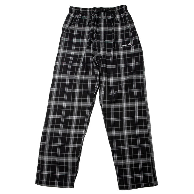 Logo Plaid Pajama Pants, , hi-res