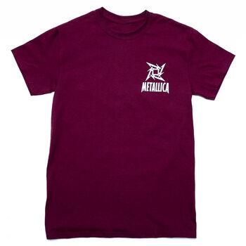 Ninja Star Logo T-Shirt (Maroon), , hi-res