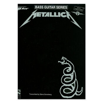 Metallica (The Black Album) - Bass Guitar Tablature Book, , hi-res