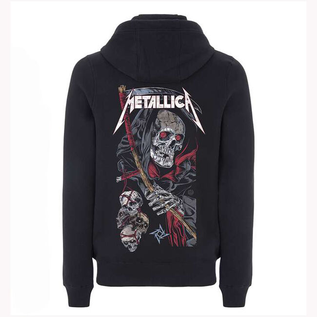 Death Reaper Full Zip Hoodie - Large, , hi-res