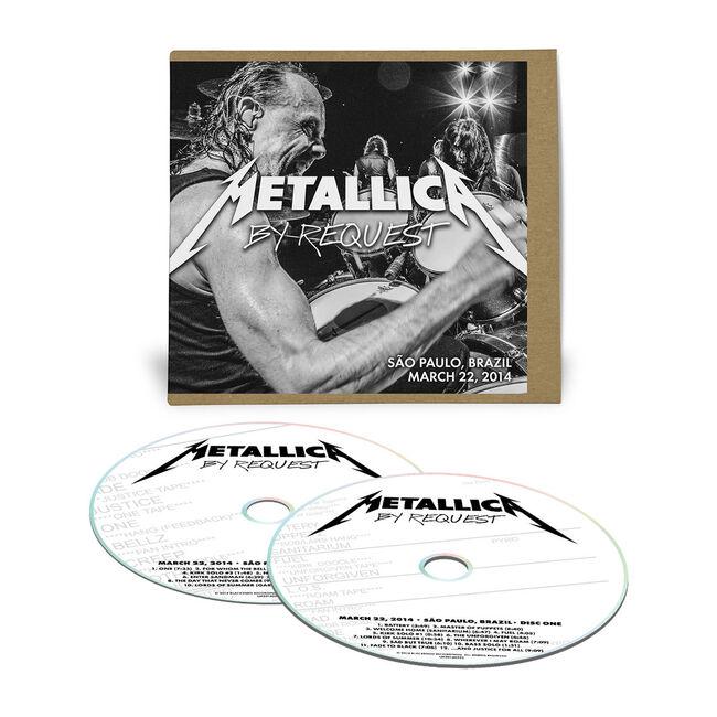 Live Metallica: Sao Paulo, Brazil - March 22, 2014 (2CD), , hi-res