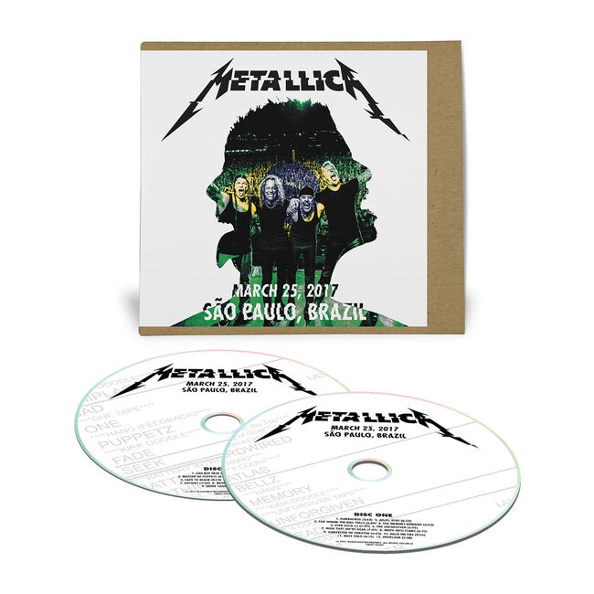 Live Metallica: São Paulo, Brazil - March 25, 2017 (2CD), , hi-res