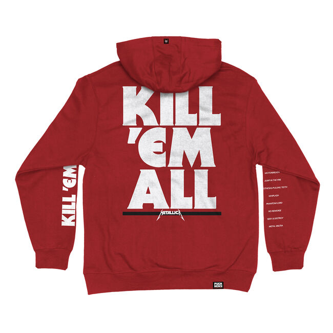 Puck Hcky x Metallica Kill 'Em All Hockey Hoodie - Medium, , hi-res