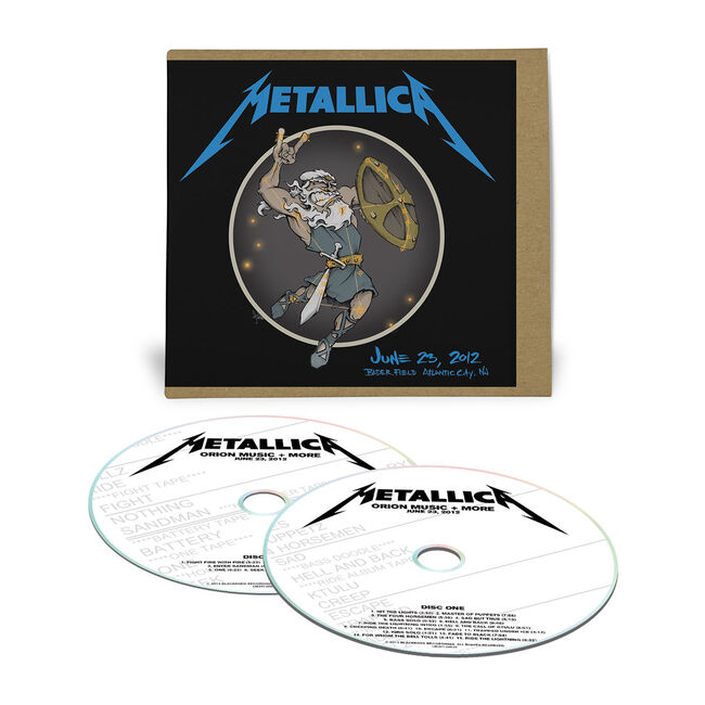 Live Metallica: Orion Music + More in Atlantic City, NJ - June 23, 2012 (2CD), , hi-res