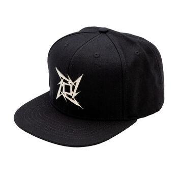 Ninja Star Metal Emblem Hat, , hi-res
