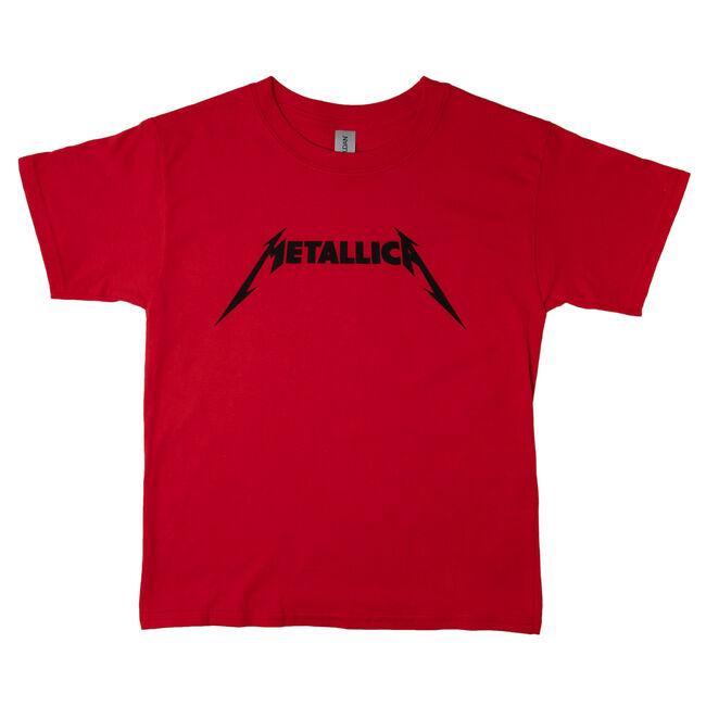 Youth Logo T-Shirt (Red), , hi-res