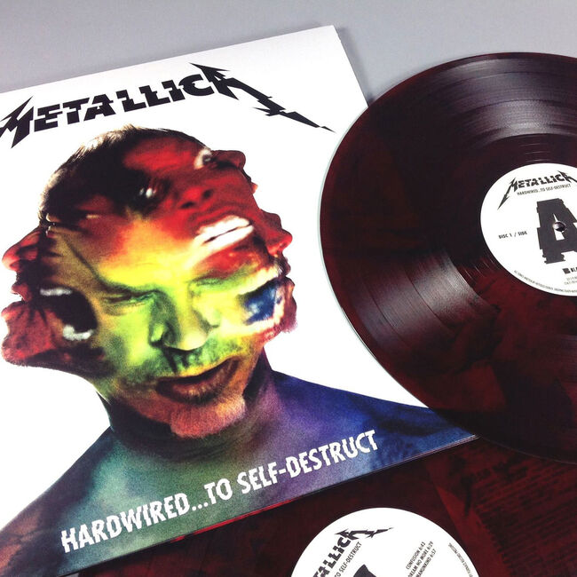 Hardwired...To Self-Destruct - Red Colored Vinyl, , hi-res