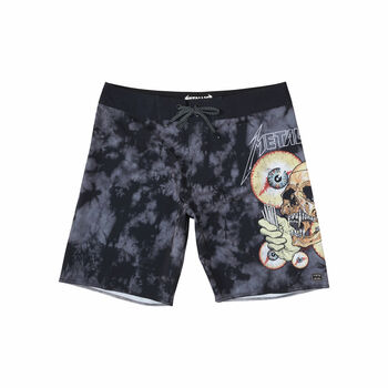 Billabong x Metallica SHORTEST STRAW Boardshorts - 28, , hi-res