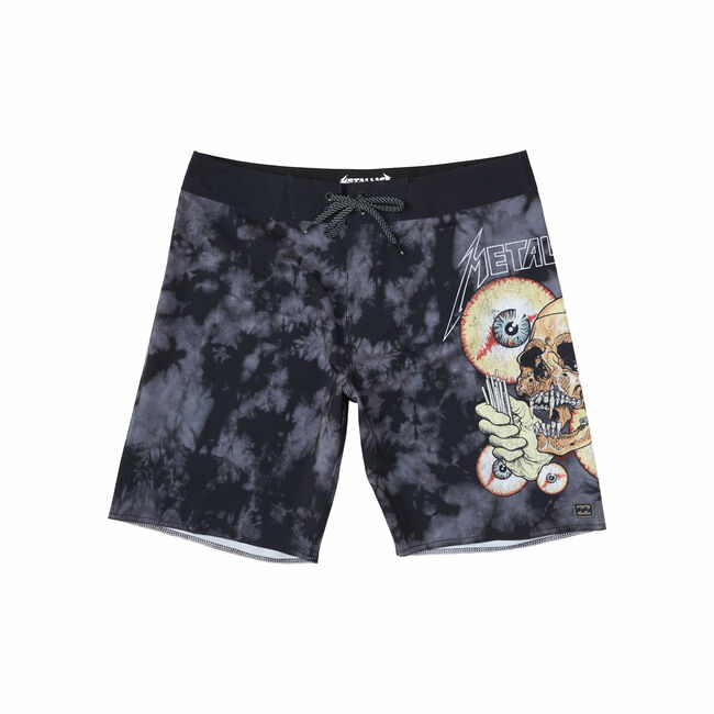 Billabong x Metallica SHORTEST STRAW Boardshorts - 36, , hi-res