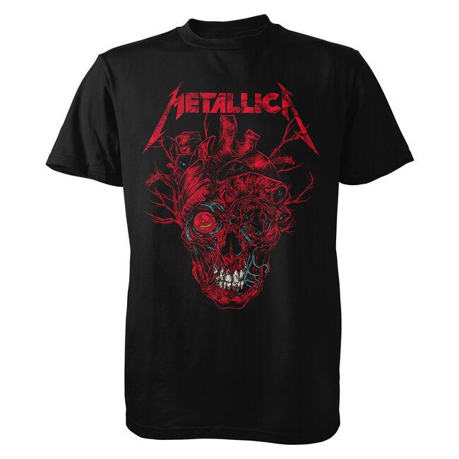Rhys Cooper Heart Skull T-Shirt, , hi-res