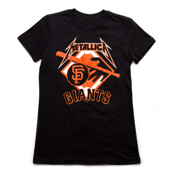 SF Giants Hit 'Em All Women's T-Shirt, , hi-res