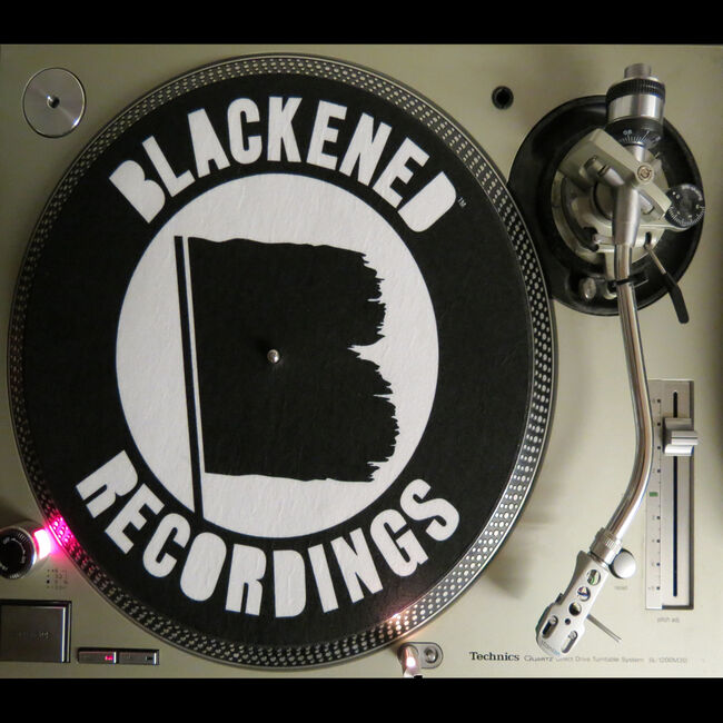 Blackened Recordings Turntable Slipmat, , hi-res