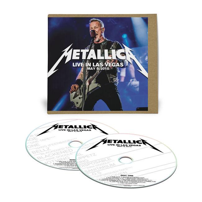Live Metallica: Las Vegas, NV - May 9, 2015 (2CD), , hi-res