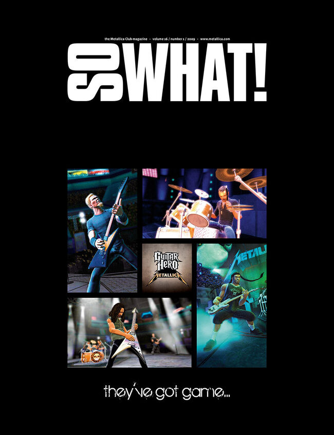 So What! Volume 16, Issue 1, , hi-res