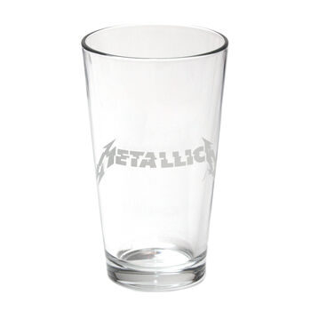 Glitch Logo Pint Glass, , hi-res