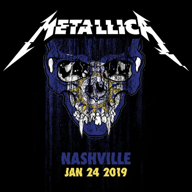 Live Metallica: Nashville, TN - January 24, 2019 (2CD), , hi-res